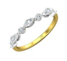 Natural Diamond Ring 0.28 CT / 1.64 gm Gold