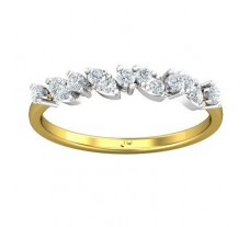 Natural Diamond Ring 0.28 CT / 1.66 gm Gold