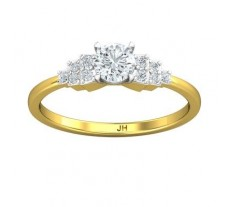 PreSet Natural Solitaire Diamond Ring 0.51 CT / 2.30 gm Gold