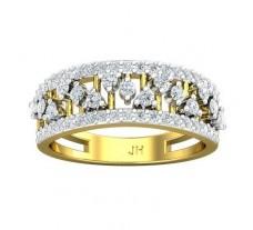 Natural Diamond Bands 0.68 CT / 4.60 gm Gold