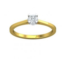 Natural Diamond Ring 0.23 CT / 1.83 gm Gold