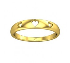Plain Gold Band Ring 2.34 gm 18k