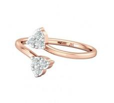 Natural Diamond Ring 0.18 CT / 2.15 gm Gold