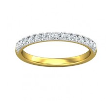 Natural Diamond Ring 0.36 CT / 2.70 gm Gold