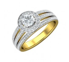 PreSet Natural Solitaire Diamond Ring 1.08 CT / 6.75 gm Gold