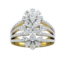 Natural Diamond Ring 1.27 CT / 8.40 gm Gold