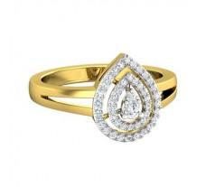 Natural Diamond Ring 0.24 CT / 5.50 gm Gold