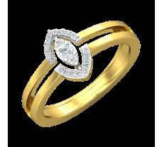 Natural Diamond Ring 0.14 CT / 4.50 gm Gold