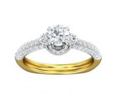 PreSet Natural Solitaire Diamond Ring 1.17 CT / 3.50 gm Gold