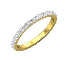 Natural Diamond Band 0.23 CT / 2.10 gm Gold