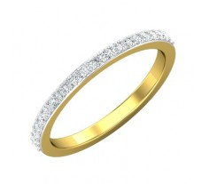 Natural Diamond Band 0.23 CT / 2.20 gm Gold