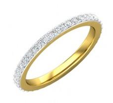 Natural Diamond Band 0.54 CT / 2.20 gm Gold