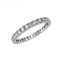 Eternity Natural Diamond Band 1.30 CT / 1.95 gm Gold