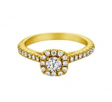 Natural Diamond Solitaire Ring 0.70 CT / 3.50 gm Gold