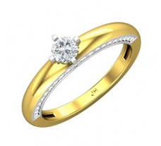 Natural Diamond Ring 0.50 CT / 3.16 gm Gold