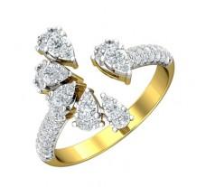 Natural Diamond Ring 0.68 CT / 4.40 gm Gold