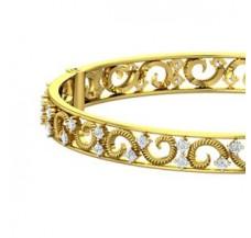 Diamond Bangles 1.76 CT / 20.40 gm Gold