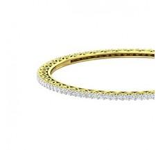 Diamond Bangles 4.40 CT / 16.65 gm Gold