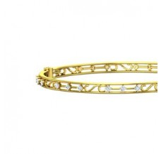 Diamond Bangles 0.81 CT / 12.83 gm Gold