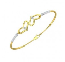 Diamond Bracelet 0.38 CT / 6.00 gm Gold