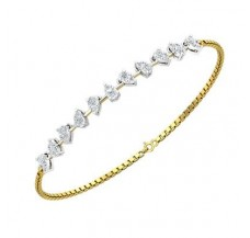 Diamond Bracelets 0.77 CT / 06.38 gm Gold