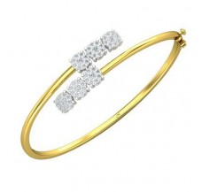 Diamond Bracelets 0.93 CT / 13.11 gm Gold
