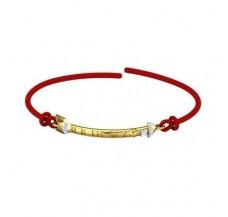 Natural Diamond Bracelets 0.11 CT / 2.43 gm Gold