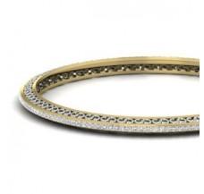 Diamond Bangles 1.98 CT / 14.00 gm Gold