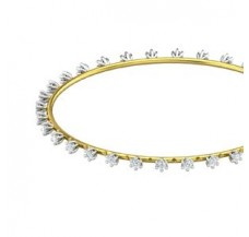 Diamond Bangles 1.44 CT / 8.90  gm Gold