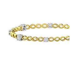 Diamond Bangles 0.84 CT / 11.67  gm Gold
