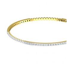 Diamond Bangles 1.71 CT / 9.82  gm Gold