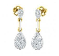 Diamond Earrings 0.73 CT / 3.14 gm Gold