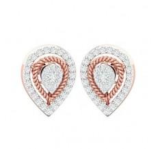 Diamond Earrings 0.55 CT / 3.35 gm Gold