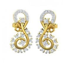 Diamond Earrings 0.59 CT / 3.90 gm Gold
