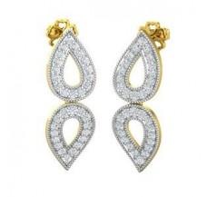 Diamond Earrings 0.64 CT / 3.90 gm Gold