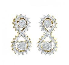 Diamond Earrings 0.85 CT / 3.70 gm Gold