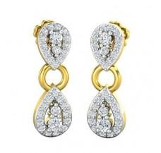 Diamond Earrings 0.76 CT / 4.80 gm Gold
