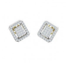 Diamond Earrings 0.59 CT / 3.70 gm Gold