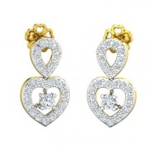 Diamond Earrings 0.65 CT / 3.79 gm Gold