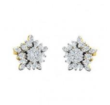 Diamond Earrings 0.48 CT / 2.84 gm Gold