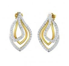 Diamond Earrings 1.89 CT / 6.63 gm Gold