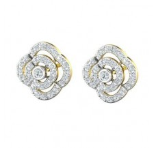 Diamond Earrings 0.66 CT / 4.39 gm Gold
