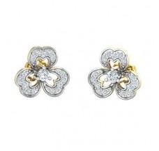 Diamond Earrings 0.41 CT / 2.84 gm Gold