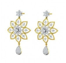 Diamond Earrings 1.05 CT / 6.60 gm Gold