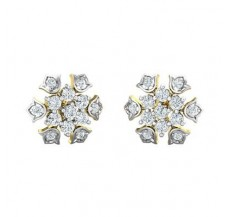Diamond Earrings 0.74 CT / 3.10 gm Gold