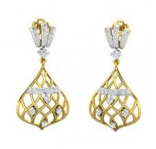 Diamond Earrings 0.70 CT / 4.94 gm Gold