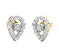 Diamond Earrings 0.61 CT / 2.34 gm Gold