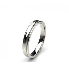 Plain Gold Band Ring 4.14 gm 18k