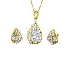 Diamond Pendant Half Set - 0.50 CT / 5.86 gm Gold