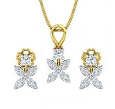 Diamond Pendant Half Set - 0.67 CT / 3.28 gm Gold